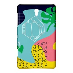 Behance Feelings Beauty Waves Blue Yellow Pink Green Leaf Samsung Galaxy Tab S (8 4 ) Hardshell Case  by Mariart