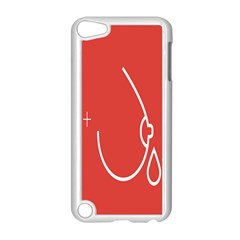 Caffeine And Breastfeeding Coffee Nursing Red Sign Apple Ipod Touch 5 Case (white) by Mariart