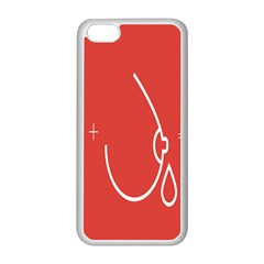 Caffeine And Breastfeeding Coffee Nursing Red Sign Apple Iphone 5c Seamless Case (white) by Mariart
