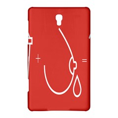 Caffeine And Breastfeeding Coffee Nursing Red Sign Samsung Galaxy Tab S (8 4 ) Hardshell Case  by Mariart