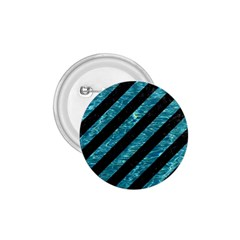 Stripes3 Black Marble & Blue Green Water 1 75  Button by trendistuff
