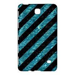 Stripes3 Black Marble & Blue Green Water Samsung Galaxy Tab 4 (8 ) Hardshell Case  by trendistuff