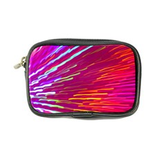 Zoom Colour Motion Blurred Zoom Background With Ray Of Light Hurtling Towards The Viewer Coin Purse by Mariart