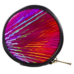 Zoom Colour Motion Blurred Zoom Background With Ray Of Light Hurtling Towards The Viewer Mini Makeup Bags by Mariart