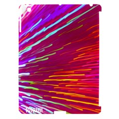 Zoom Colour Motion Blurred Zoom Background With Ray Of Light Hurtling Towards The Viewer Apple Ipad 3/4 Hardshell Case (compatible With Smart Cover) by Mariart
