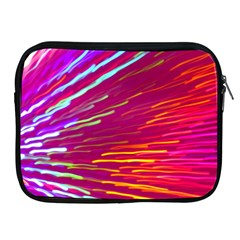Zoom Colour Motion Blurred Zoom Background With Ray Of Light Hurtling Towards The Viewer Apple Ipad 2/3/4 Zipper Cases by Mariart