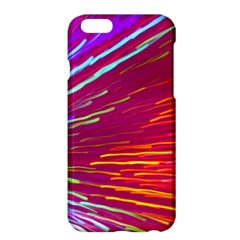 Zoom Colour Motion Blurred Zoom Background With Ray Of Light Hurtling Towards The Viewer Apple Iphone 6 Plus/6s Plus Hardshell Case by Mariart