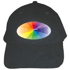 Colour Value Diagram Circle Round Black Cap by Mariart