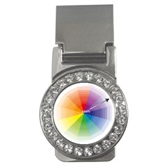 Colour Value Diagram Circle Round Money Clips (cz)  by Mariart