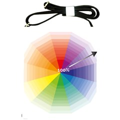 Colour Value Diagram Circle Round Shoulder Sling Bags by Mariart