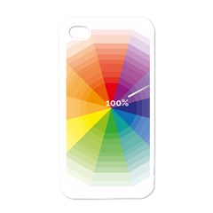 Colour Value Diagram Circle Round Apple Iphone 4 Case (white) by Mariart
