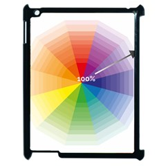 Colour Value Diagram Circle Round Apple Ipad 2 Case (black) by Mariart