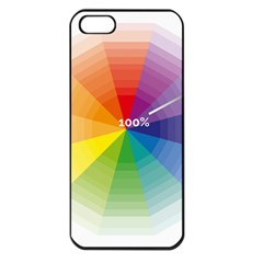 Colour Value Diagram Circle Round Apple Iphone 5 Seamless Case (black) by Mariart
