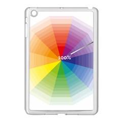 Colour Value Diagram Circle Round Apple Ipad Mini Case (white) by Mariart