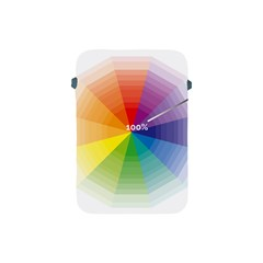 Colour Value Diagram Circle Round Apple Ipad Mini Protective Soft Cases by Mariart