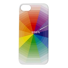 Colour Value Diagram Circle Round Apple Iphone 5s/ Se Hardshell Case by Mariart