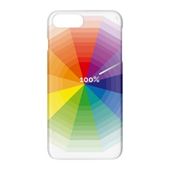 Colour Value Diagram Circle Round Apple Iphone 7 Plus Hardshell Case by Mariart