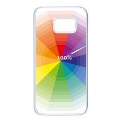 Colour Value Diagram Circle Round Samsung Galaxy S7 White Seamless Case by Mariart