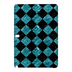 Square2 Black Marble & Blue Green Water Samsung Galaxy Tab Pro 10 1 Hardshell Case by trendistuff