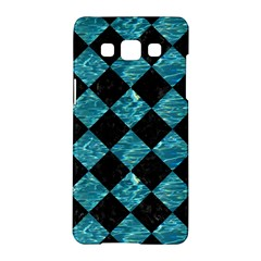 Square2 Black Marble & Blue Green Water Samsung Galaxy A5 Hardshell Case  by trendistuff
