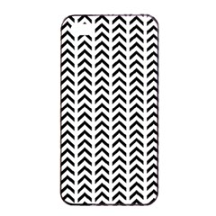 Chevron Triangle Black Apple Iphone 4/4s Seamless Case (black) by Mariart