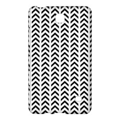 Chevron Triangle Black Samsung Galaxy Tab 4 (8 ) Hardshell Case  by Mariart
