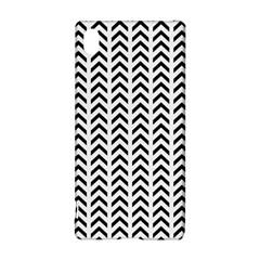 Chevron Triangle Black Sony Xperia Z3+ by Mariart