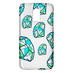 Brilliant Diamond Green Blue White Galaxy S5 Mini by Mariart