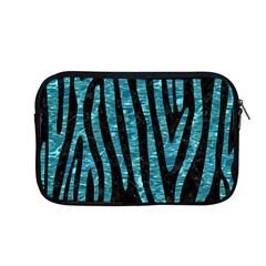 Skin4 Black Marble & Blue Green Water (r) Apple Macbook Pro 13  Zipper Case by trendistuff