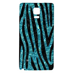 Skin4 Black Marble & Blue Green Water Samsung Note 4 Hardshell Back Case by trendistuff