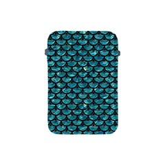 Scales3 Black Marble & Blue Green Water (r) Apple Ipad Mini Protective Soft Case by trendistuff