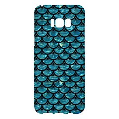 Scales3 Black Marble & Blue Green Water (r) Samsung Galaxy S8 Plus Hardshell Case  by trendistuff