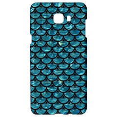 Scales3 Black Marble & Blue Green Water (r) Samsung C9 Pro Hardshell Case  by trendistuff