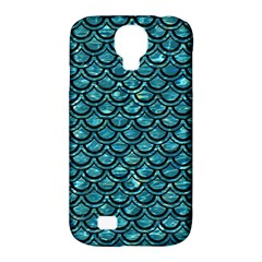 Scales2 Black Marble & Blue Green Water (r) Samsung Galaxy S4 Classic Hardshell Case (pc+silicone) by trendistuff
