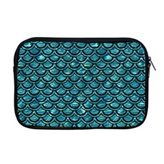 Scales2 Black Marble & Blue Green Water (r) Apple Macbook Pro 17  Zipper Case by trendistuff