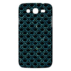 Scales2 Black Marble & Blue Green Water Samsung Galaxy Mega 5 8 I9152 Hardshell Case  by trendistuff