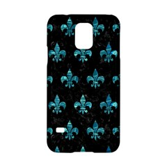 Royal1 Black Marble & Blue Green Water (r) Samsung Galaxy S5 Hardshell Case  by trendistuff