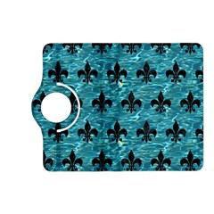 Royal1 Black Marble & Blue Green Water Kindle Fire Hd (2013) Flip 360 Case by trendistuff
