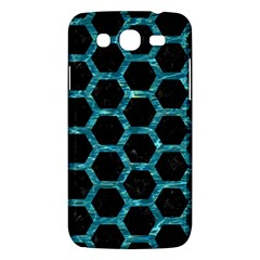 Hexagon2 Black Marble & Blue Green Water Samsung Galaxy Mega 5 8 I9152 Hardshell Case  by trendistuff