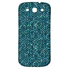 Hexagon1 Black Marble & Blue Green Water (r) Samsung Galaxy S3 S Iii Classic Hardshell Back Case by trendistuff