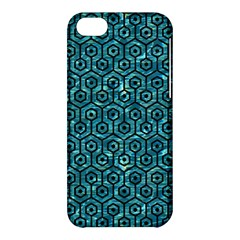 Hexagon1 Black Marble & Blue Green Water (r) Apple Iphone 5c Hardshell Case by trendistuff