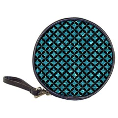 Circles3 Black Marble & Blue Green Water (r) Classic 20 Cd Wallet by trendistuff