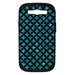 Circles3 Black Marble & Blue Green Water (r) Samsung Galaxy S Iii Hardshell Case (pc+silicone) by trendistuff