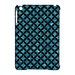 Circles3 Black Marble & Blue Green Water (r) Apple Ipad Mini Hardshell Case (compatible With Smart Cover) by trendistuff