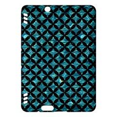 Circles3 Black Marble & Blue Green Water (r) Kindle Fire Hdx Hardshell Case by trendistuff