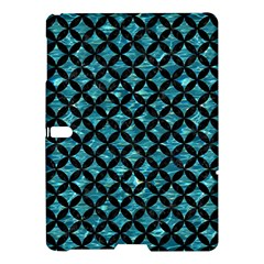 Circles3 Black Marble & Blue Green Water (r) Samsung Galaxy Tab S (10 5 ) Hardshell Case  by trendistuff