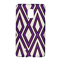 Diamond Key Stripe Purple Chevron Galaxy Note Edge by Mariart