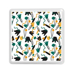 Flowers Duck Legs Line Memory Card Reader (square)