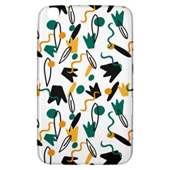 Flowers Duck Legs Line Samsung Galaxy Tab 3 (8 ) T3100 Hardshell Case  by Mariart