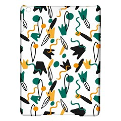 Flowers Duck Legs Line Ipad Air Hardshell Cases by Mariart